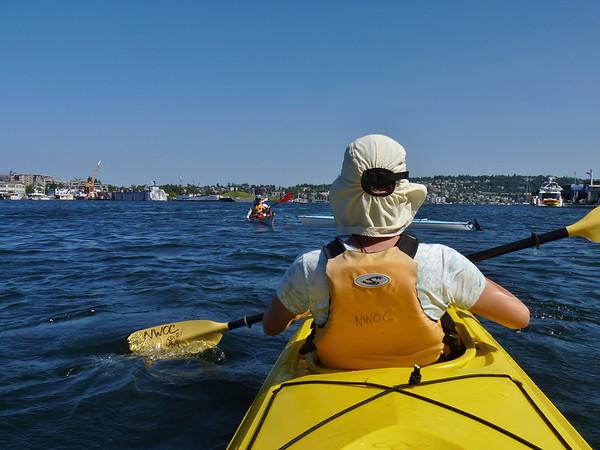 Lake Union Kayaking